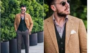 男士格纹衬衫怎样搭配才能更加时尚?